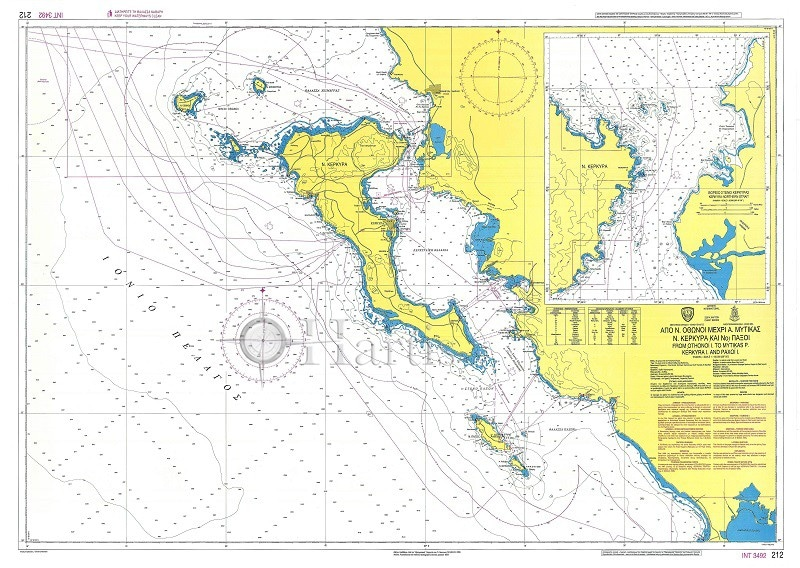 Greece Corfu Chart